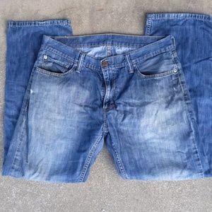 Levi's 514 Vintage Slightly Distressed Jeans